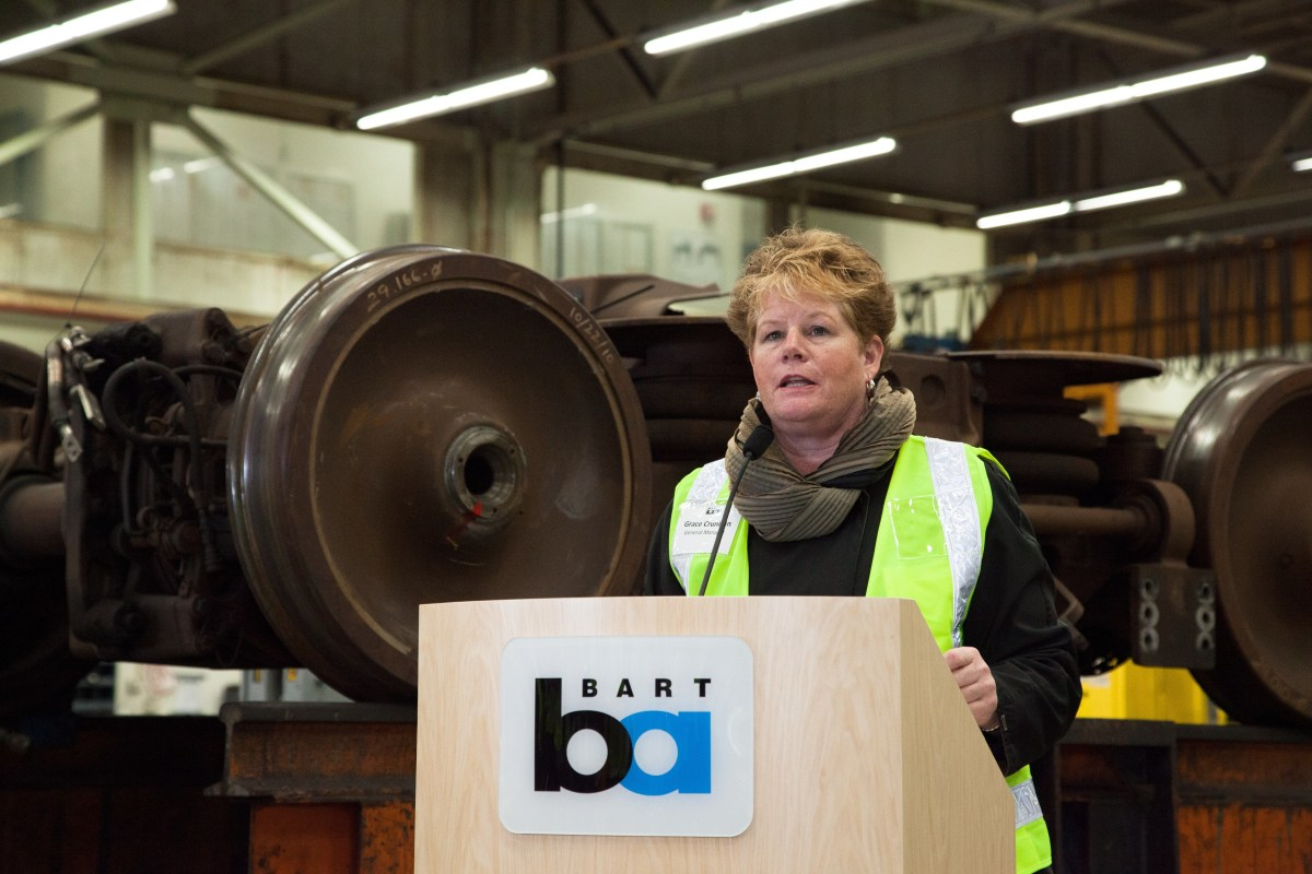 Open Thread General Manager Grace Crunican Leaving Bart Streetsblog San Francisco