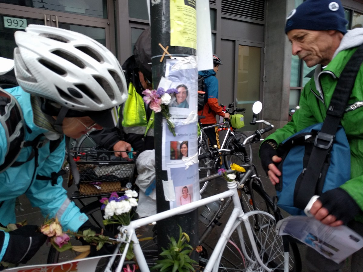 Wind, Tears and Cold Rain Mark this Year's Ride of Silence