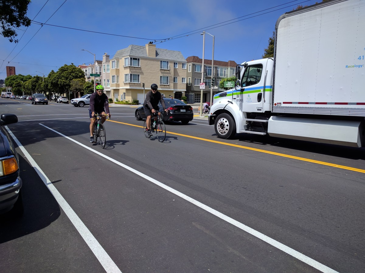 On Arguello, City Again Fails to Protect Cyclists