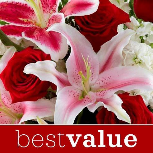 Florist Designed Valentines Day Bouquet At Send Flowers