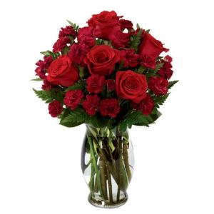 Sweetest Heart Rose Bouquet at Send Flowers red rose bouquet with miniature roses for same day delivery roses