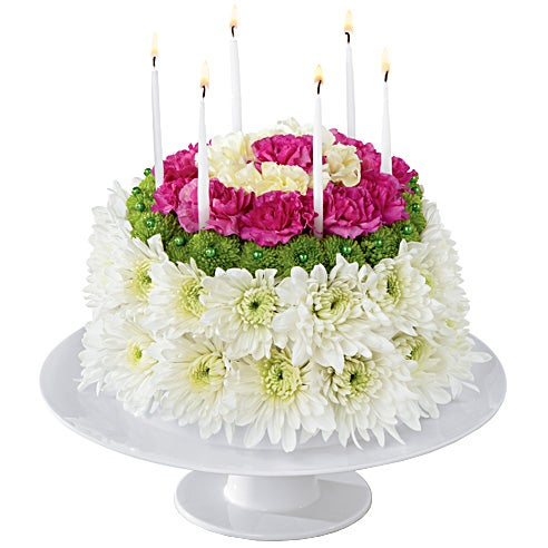 Birthday Surprise Floral Cake At Send Flowers