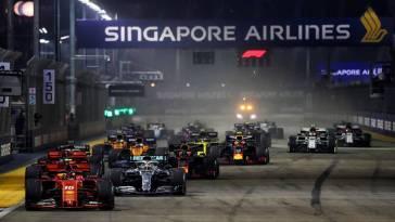 F1 2021 – Le Grand Prix de Singapour est annulé (+ calendrier)