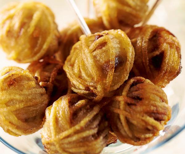 Apritif De Fete Bonbons De Foie Gras Faon Rsti