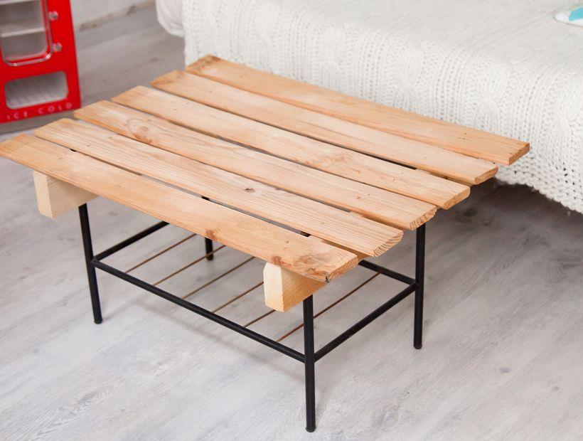 diy brico comment se fabriquer une table basse avec des palettes biba magazine