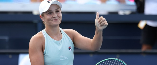 Tennis – Classement WTA : Barty creuse un peu l'écart, Ferro dégringole