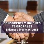 CONSORCIOS Y UNIONES TEMPORALES     (Marcos Normativos)