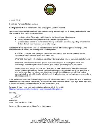 GFO Member Letter - 2015 06 11 - Pg 1