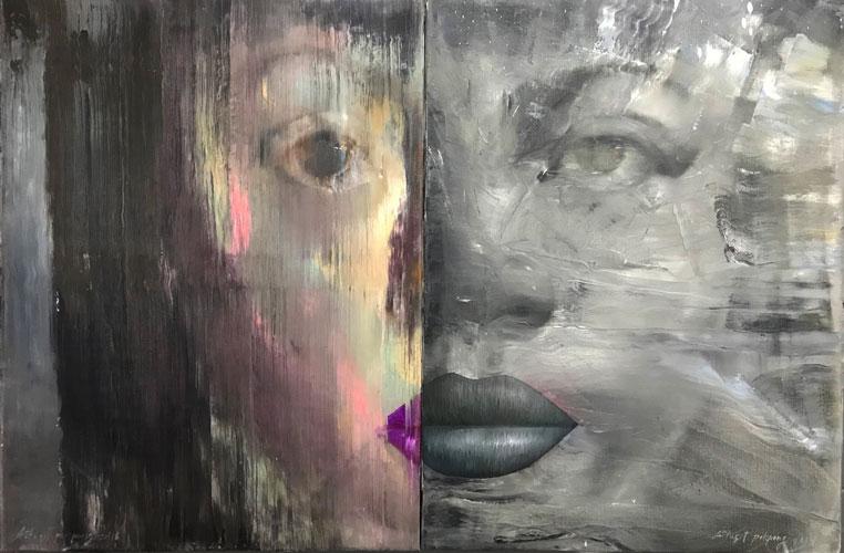 """Attasit Pokpong """"Untitled 2"""" (2016, oil on linen, 29.5"""" x 51.2"""")"""