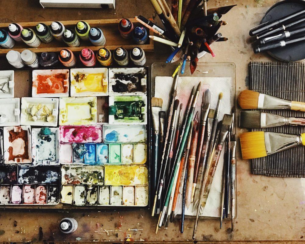 Nina Meledandri's Watercolor Palette