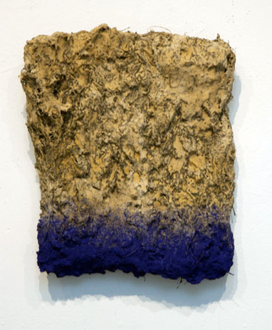 """Myung Gyun You """"The Forest of History, 17-3-1"""" (2017 Soil and mixed media, 18 x 15 x 4 in)"""