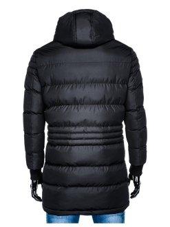 moška bunda z kapuco