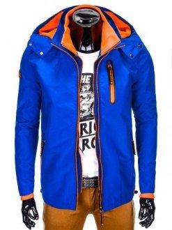moška jakna z kapuco