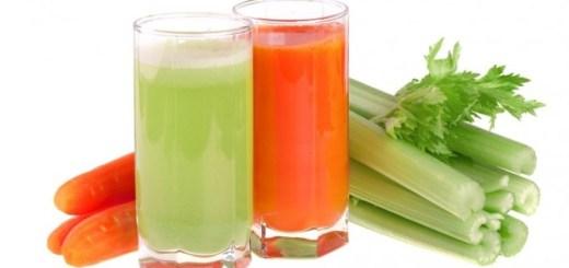Suc de telina si morcov. Cel mai bun remediu bun regenerarea pielii