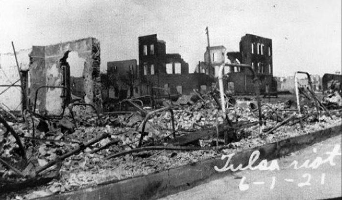 At The End Of The Day, June 1, 1921, This Is What Remained Of Black Wall  Street. Lost Forever Were Over 600 Successful Businesses, Including 21  Churches, ...