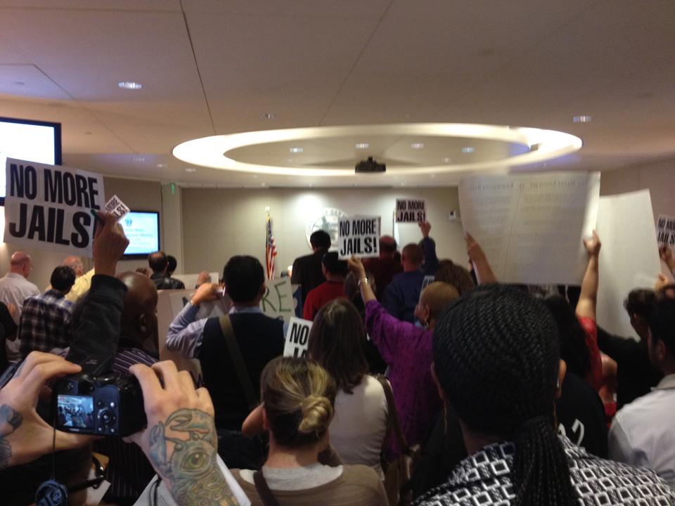Hundreds pack San Mateo supervisors' meeting, demand no new