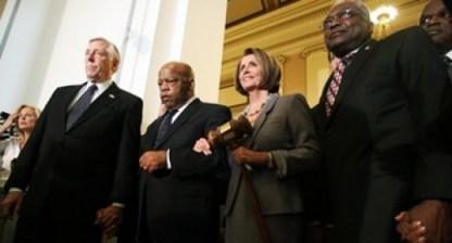 Reps. John Lewis, Nancy Pelosi, others