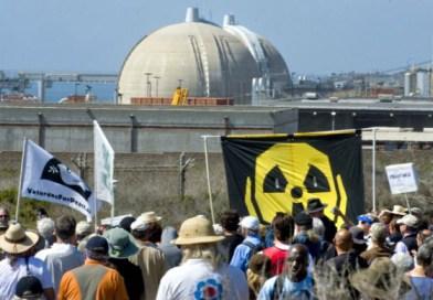 Anti-nuke rally near San Onofre 1st anniversary Fukushima 031112 by Michael Goulding, Orange County Register