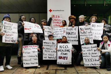 Global Women's Strike 'Stop NGO Pillage' rally London 050112