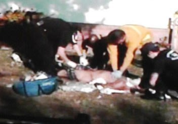 Manteca PD search Ernesto DuenezGÇÖ stripped body while paramedics do chest compressions 060811