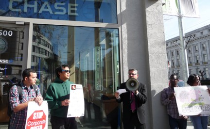 Sup. Avalos calls for hearing LIBOR fraud Chase Bank branch 012913 by ACCE
