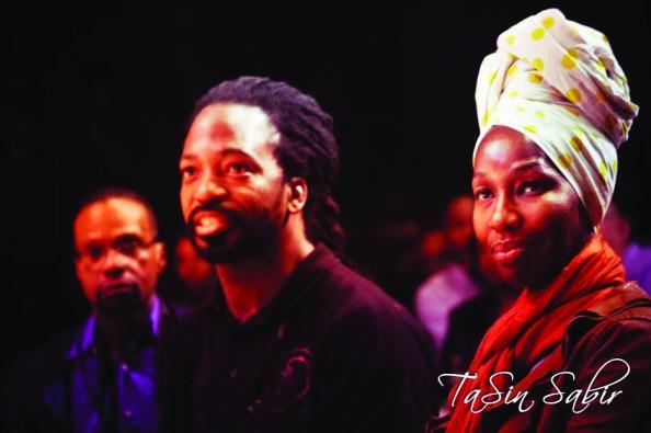 Black Media Appreciation Night Malik, Karen Seneferu Yoshi's 112612 by TaSin Sabir