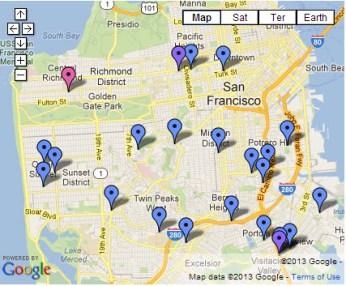Urban Orchards program fruit tree planting locations 0113
