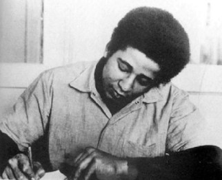 George Jackson writing San Quentin, web