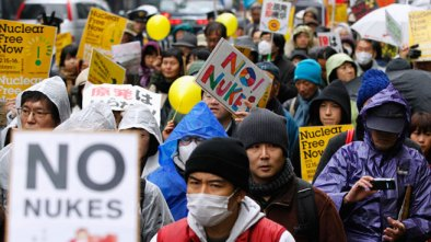 No nukes march Japan by Reuters
