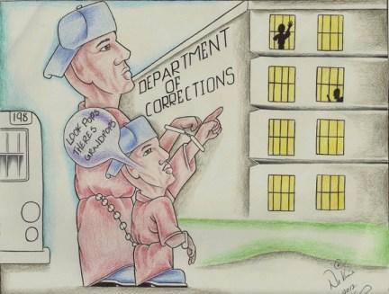 Generational incarceration cartoon, web