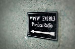 WPFW sign