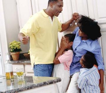Physical abuse dad mom children