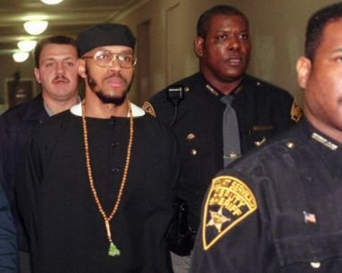 Siddique Abdullah Hasan sn Carlos Sanders, 'alleged ringleader 1993 Lucasville Uprising, led to trial 011696 by Al Behrm