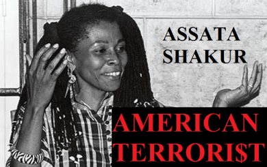 Assata Shakur 'American Terrorist' graphic
