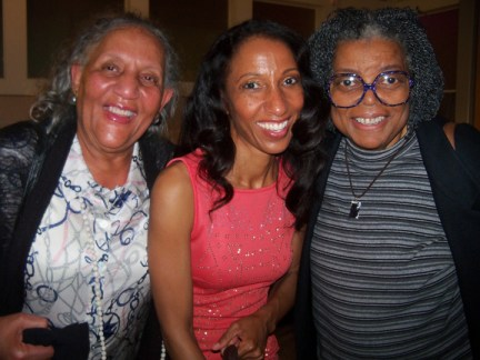 Mary Watkins, Victoria Theodore, mother at Music SHE Wrote concert OPC 042613 by Wanda
