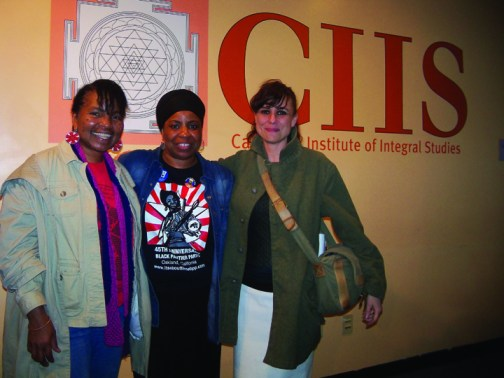 Wanda, Theresa Shoatz, Annie Paradise at Maroon the Implacable CIIS 0413 by Wanda