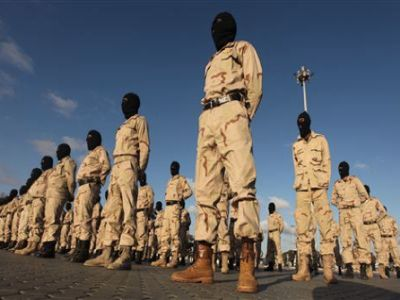 First battalion of US-commanded elite force in Libya 1012