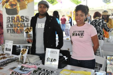 Leimert Park Book Fair young author