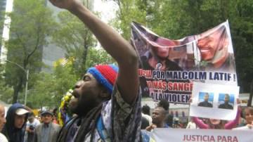 Malcolm Shabazz assassination protest El Angel Mexico City 060913-2