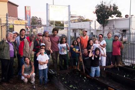 POOR family at Homefulness garden