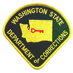 Washington State DOC patch