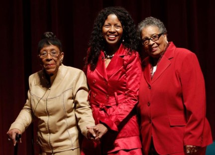 Doris Ward, Janice Edwards, Willie B. Kennedy at SF Labor Council MLK Breakfast
