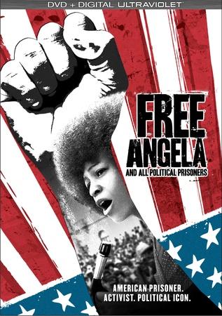 'Free Angela' by filmmaker Shona Lynch DVD cover