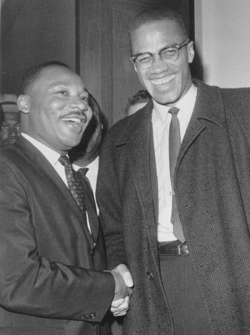 Martin Luther King, Malcolm X the meeting