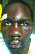 Miguel Jackson, Georgia prisoner beaten with hammers by guards 123110 courtesy Final Call