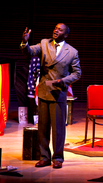 Tayo Aluko 'Call Mr. Robeson' Carnegie Hall-2 by Carol Rosegg