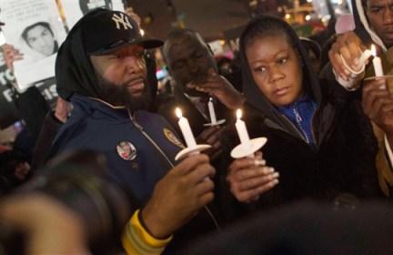 Trayvon Martin vigil Tracy Martin, Sybrina Fulton