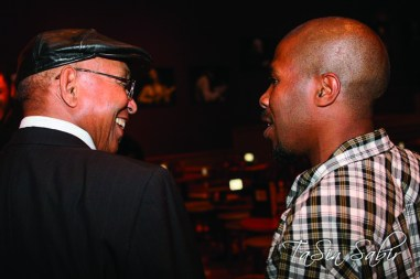 Black Media Appreciation Night Willie Ratcliff, JR Valrey smiles Yoshi's 112612 by TaSin Sabir, web