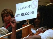 Ban the Box campaign 'I am not my record'