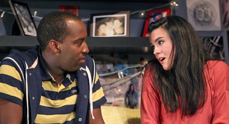 Devion McArthur, Jessica Lynn Carroll in Marin Theater's 'I and You' by Lauren Gunderson